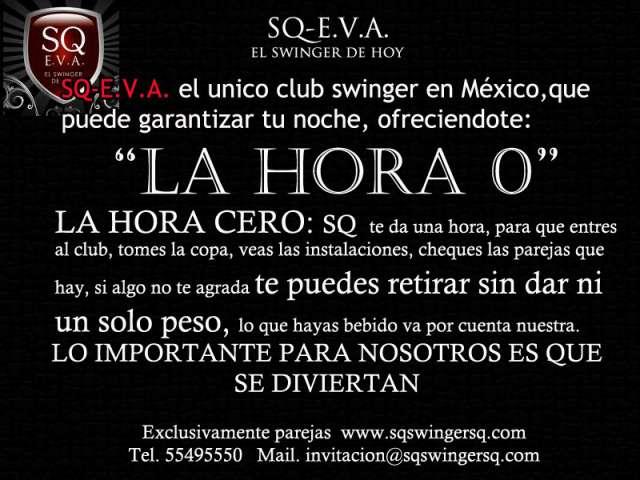 Club sq e.v.a swinger mexico, distrito federal